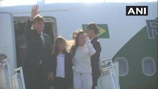 Republic Day 2020: Brazilian President Jair Bolsonaro Arrives in Delhi, To be Chief Guest For Parade