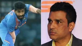 India vs new zealand sanjay manjrekar trolled for giving bowling advice to jasprit bumrah 3927315