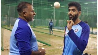 Indvsl jasprit bumrah to bowl at nets ahead of 1st sri lanka t20 3898203