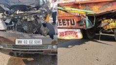 कार दुर्घटना में बाल-बाल बचे जावेद अख्तर और शबाना आजमी, अस्पताल में भर्ती