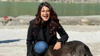 Jennifer Winget Plays With Street Dog on The Sets of 'Bayhadh 2' And it is 'Pure Joy' For Her