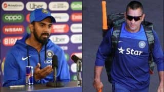 Rahul on Cusp of Surpassing Dhoni's Feat in T20Is at Hamilton
