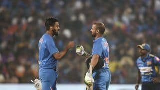 India vs Sri Lanka 2020 3rd T20I: KL Rahul, Shikhar Dhawan Power India to 201/6 At Pune