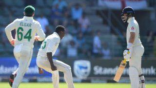SA vs ENG: विकेट मिलने का आक्रामक जश्न मनाने के चलते कगीसो रबाडा पर लगा एक मैच का प्रतिबंध
