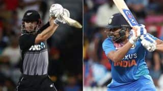 Ind vs nz 3rd t20i rohit sharma mohammad shami guide india to win after high voltage drama of super over in hamilton t20i 3925451