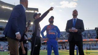 INDvNZ 1st T20 : भारत ने टॉस जीतकर न्यूजीलैंड को पहले बल्लेबाजी के लिए किया आमंत्रित