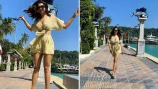 Karishma Tanna Welcomes Summer in Her Own Style, Shares Hot Pictures in Crop Top And Shorts