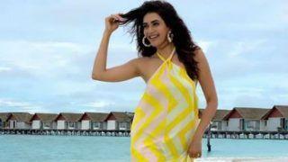 Wahan Photo Shoot ke Liye Gayi Thi   ! Anita Hassanandani Trolls Karishma Tanna on Her Maldives Pictures