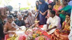 Hindu Marriage In Mosque: मस्जिद में पुजारी ने हिंदू रीति-रिवाज से कराई शादी, हुई सोने की बारिश, वायरल PHOTOS