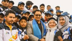 Kiren Rijiju Visits J-K, Says    UT Will be Most Developed Region Soon