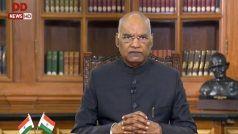 राष्ट्रपति का देश के नाम संबोधन: सरकार ने आंतरिक सुरक्षा को मजबूत बनाने के लिए उठाए ठोस कदम
