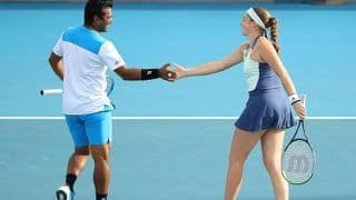 Australian Open 2020: Leander Paes, Jelena Ostapenko Reach Mixed Doubles Second Round; Rohan Bopanna Advances to Quarterfinals