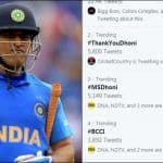 #ThankYouDhoni Trends After Former India Captain Gets Dropped From BCCI's Annual Contract; Can he Still Play World T20 in Australia?