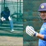 MS Dhoni Has a Practice Session in Ranchi, Getting Ready For Jharkhand's Ranji Trophy Clash With Uttarakhand | WATCH VIDEO