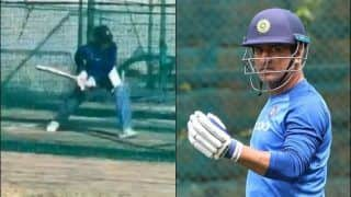 WATCH: Dhoni Hits The Nets, Gets Ready For Ranji Clash With Uttarakhand