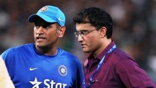 BCCI President Sourav Ganguly Refuses to Comment on MS Dhoni   s Omission From BCCI   s Central Contracts