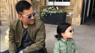 MS Dhoni Shares Adorable Video of Ziva Playing Guitar and Singing in Snowy Weather