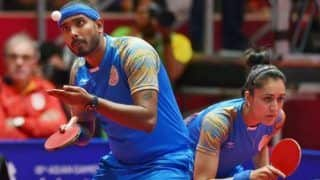 Indian Men's and Women's Table-Tennis Teams One Win Away From Securing Maiden Olympics Qualification
