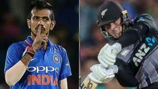 Ind vs nz martin guptil abuse yuzvendra chahal after auckland t20i 3922180