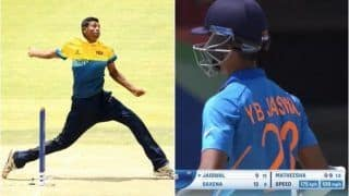 Speed Gun Error or World Record? 17-Year-Old SL Pacer Bowls 175kph Delivery vs India During U-19 WC | WATCH