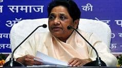 Even if we Have to Vote For BJP: Mayawati Attacks SP as She Vows to Defeat Akhilesh's Party in Future Polls