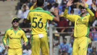 India vs Australia 2020, 1st ODI: Mitchell Starc, Pat Cummins Wreck Havoc, India Bowled Out for 255