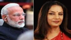 'Distressing News', PM Modi on Shabana Azmi   s Accident; Prays For Actor's Quick Recovery