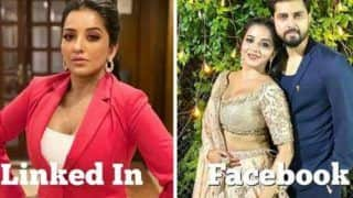 Bhojpuri Hot Bomb And Nazar Fame Monalisa Lights up The Internet With Dolly Parton Challenge