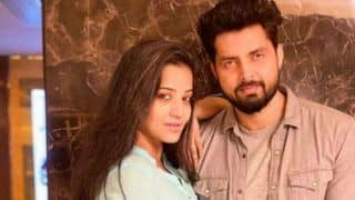 Bhojpuri Sizzler Monalisa Spends Her Friday Evening With Hubby Vikrant Singh Rajpoot And it Will Give You Major Couple Goals