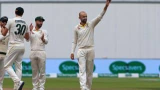 Australia vs new zealand nathan lyon maiden five for against new zealand 3899832
