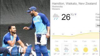 India vs New Zealand, 3rd T20I, Weather Report: Will Rain Play Spoilsport?