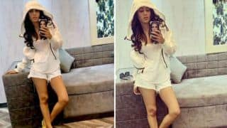 Television Hottie Nia Sharma Looks Breathtaking in White Tank Top And Ripped Shorts, Picture Will Make You go Crazy