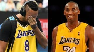 Kobe Bryant Death: Nick Kyrgios Pays Heartfelt Tribute to LA Lakers Star Ahead of Australian Open Round 4 Match Against Rafael Nadal | WATCH VIDEO