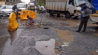 Man Who Lost 3-Year-Old Son In Road Accident Fills Potholes On Roads In Faridabad