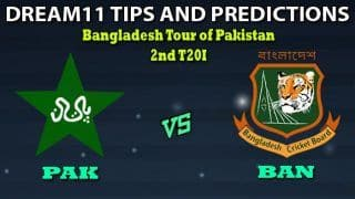 PAK vs BAN Dream11 Team Prediction Under 19 World Cup 2020: Captain And Vice-Captain, Fantasy Cricket Tips Pakistan vs Bangladesh 2nd T20I at Gaddafi Stadium, Lahore 2:30 PM IST
