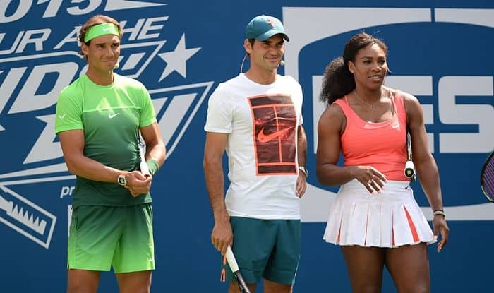 Federer Serena And Nadal Will Headline An Exhibition Match