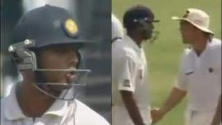 Rahul Dravid Turns 47; Relive Moment When Wall Sledged an Australian on His Birthday | WATCH VIDEO