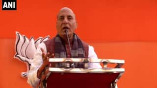 BJP-JD(U) Jodi Like Tendulkar-Sehwag: Rajnath Singh in All Praises For Nitish Kumar Govt in Bihar