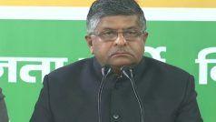 Tukde-Tukde Gang Supporting Anti-CAA Protest at Shaheen Bagh, Claims Ravi Shankar Prasad