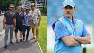 India vs New Zealand: Ravi Shastri Shares Picture From Auckland, Michael Vaughan's Response is a Runaway Winner | POST