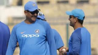 Ravi shastri ms dhoni may end his odi career soon 3904450