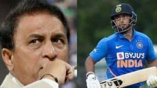 Ind vs nz rishabh pant should keep wickets for india in limited overs cricket says sunil gavaskar 3916701