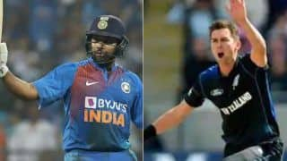 Cricket news today january 22 india vs new zealand mike hesson believes trent boult versus rohit sharma will be a fascinating match up in odi 3917486