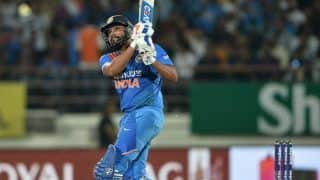 Rohit Sharma Pips Sachin Tendulkar, Sourav Ganguly During 3rd ODI Between India-Australia to Become Third Fastest to 9000 ODI Runs