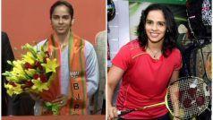 PICS: सियासी शॉट खेलने उतरींसाइना नेहवाल, ये दिग्गज खिलाड़ी भी BJP में हो चुके हैं शामिल