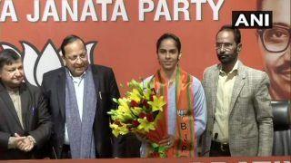 Badminton Player Saina Nehwal Joins BJP Ahead of Delhi Assembly Election
