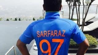 Ranji trophy 2019 20 sarfaraz khan slams maiden double ton against up 3917924