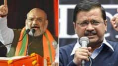 Delhi Elections: Amit Shah 'Exposes' CM Kejriwal's Claim of 'Revolution in Education', Tweets Video