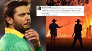 Pakistan Legend Shahid Afridi Offers Help For Australia's Bushfire Tragedy Victims, Wins Twitter For Heart-Warming Gesture | SEE POSTS