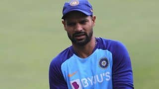 Middle order collapse led to crushing loss against australia says shikhar dhawan 3909783